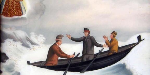 Ex-voto le naufrage © CANOPÉ- CRDP de Nice
