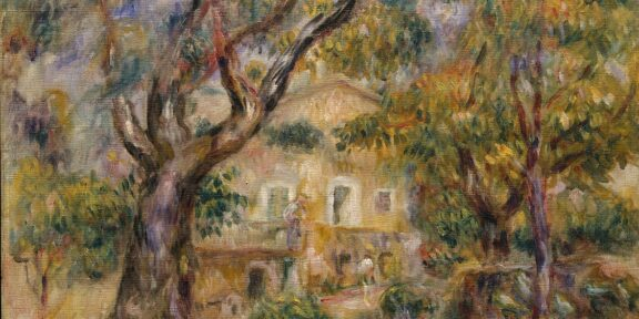Pierre Auguste Renoir, La ferme des Collettes