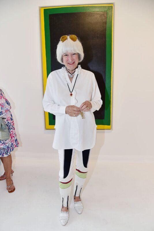 Mia Fonssagrives Solow, vedova di Sheldon Solow, a una mostra d'arte nell'East Hampton nel 2017. Ha recentemente detto alla stampa di star valutando l'apertura di un museo privato.