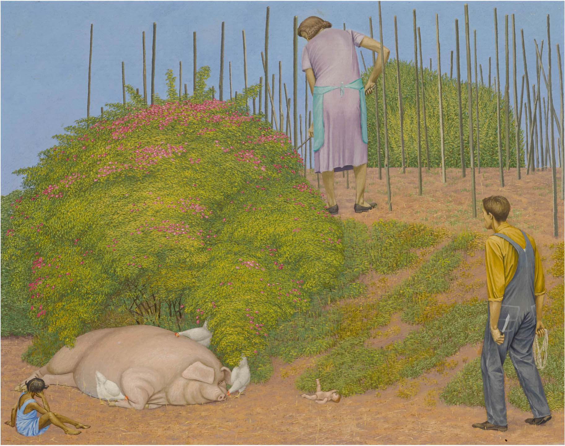 Anatomia di un'opera d'arte: The Rosebush di Henry Koerner