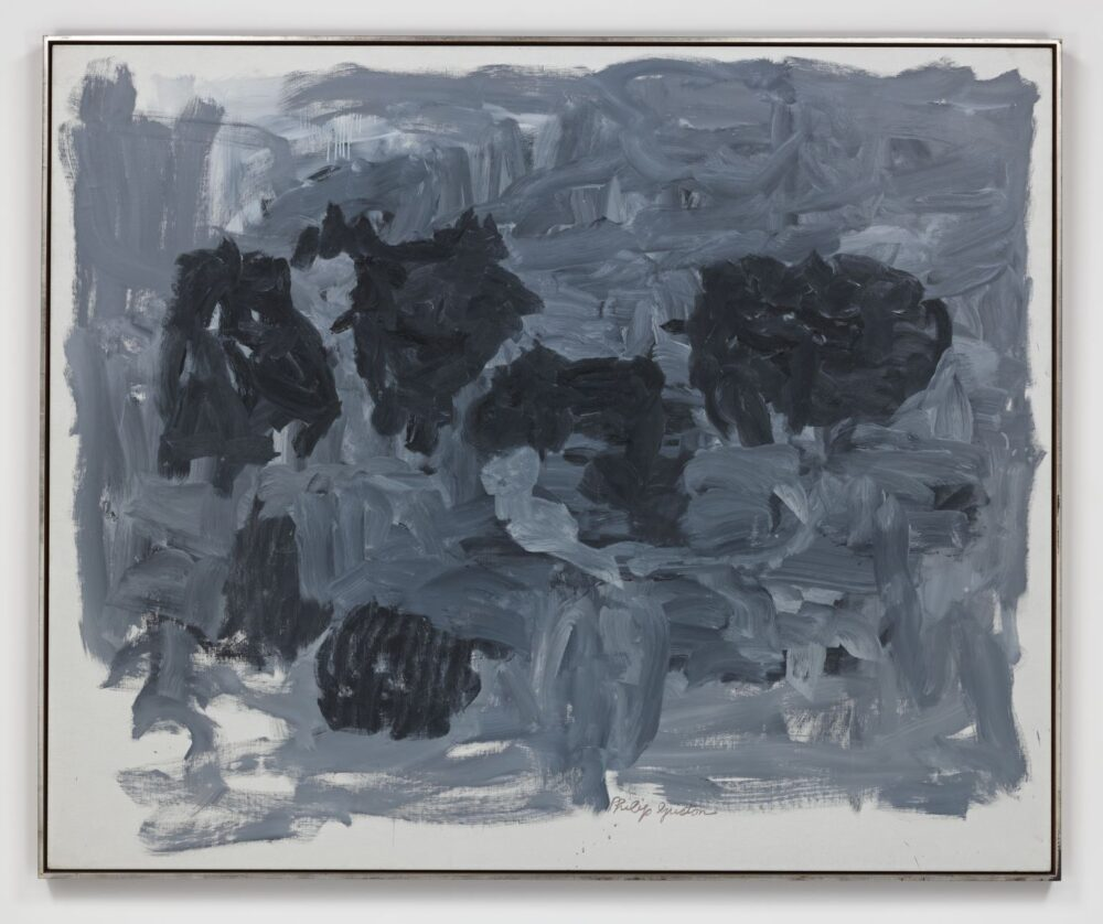 Philip Guston Group II 1964 Oil on canvas 165.4 x 201 cm / 65 1/8 x 79 1/8 in Photo: Genevieve Hanson