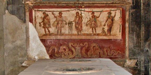 Un thermopolium di Pompei