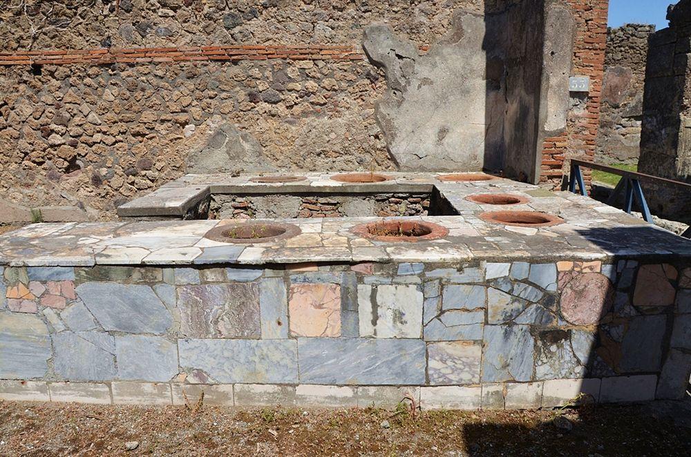 Thermopolium a Ercolano