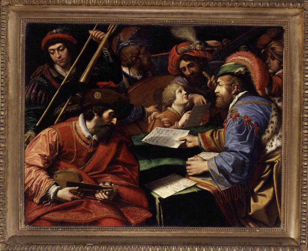 Lionello Spada, Concerto, olio su tela, Galleria Borghese © Ministero per i beni e le attività culturali e per il turismo - Galleria Borghese