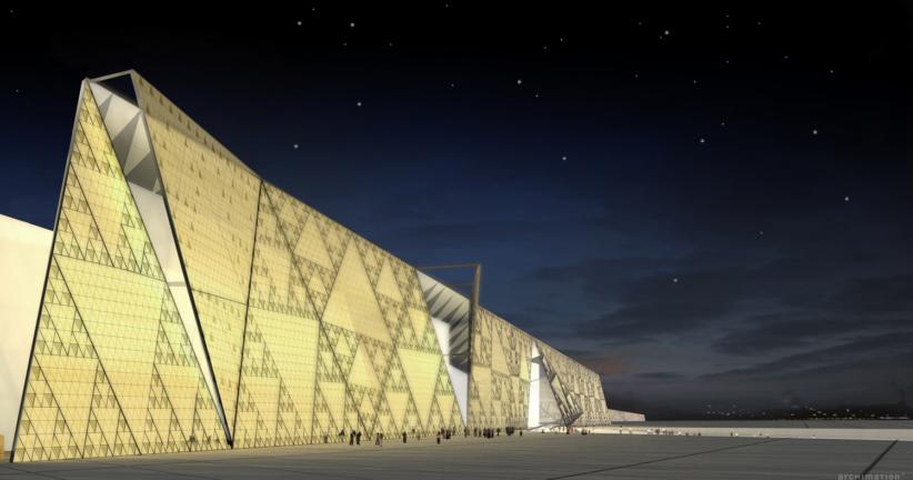 Grand Egyptian Museum, Giza, Egitto