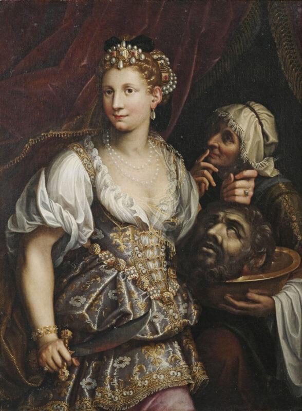 Giuditta con la testa di Oloferne Giuditta con la testa di Oloferne,1596, Galleria Borghese, Roma