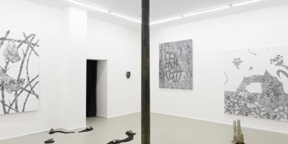 Holobiont Rhapsody, Installation view, the courtesy of eastcontemporary and the artist, Milan, 2020