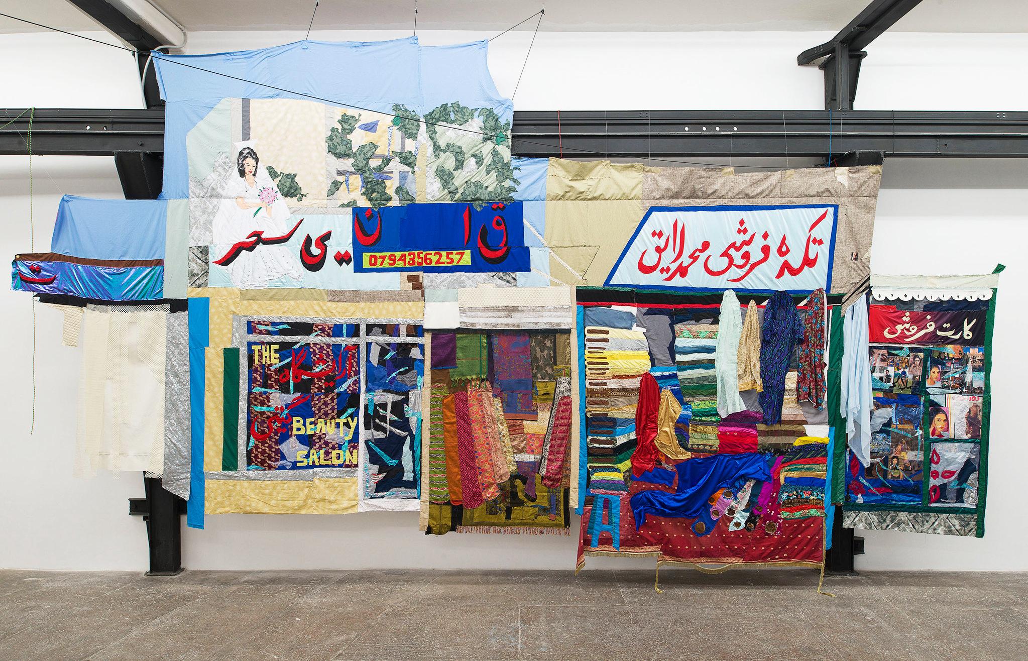 Il bazar interculturale di Hangama Amiri