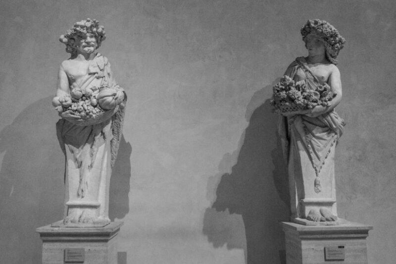 Priapo e Flora
