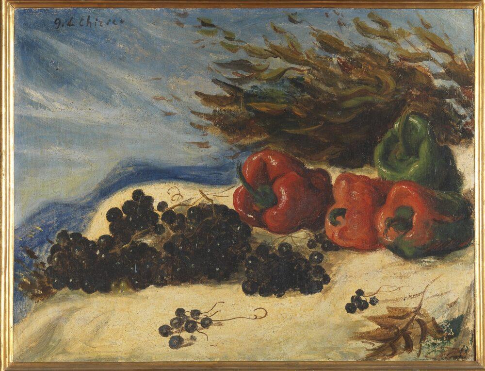 Giorgio De Chirico, Natura morta