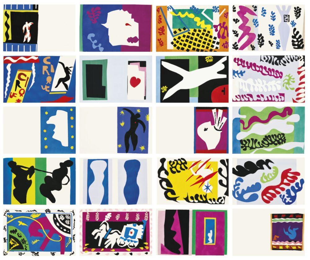 Henri Matisse JAZZ, 1947