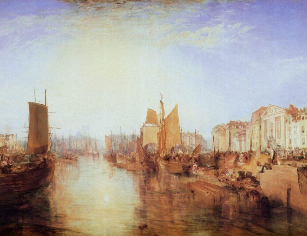 J.M.W. Turner, Harbor of Dieppe: Changement de Domicile (1826)