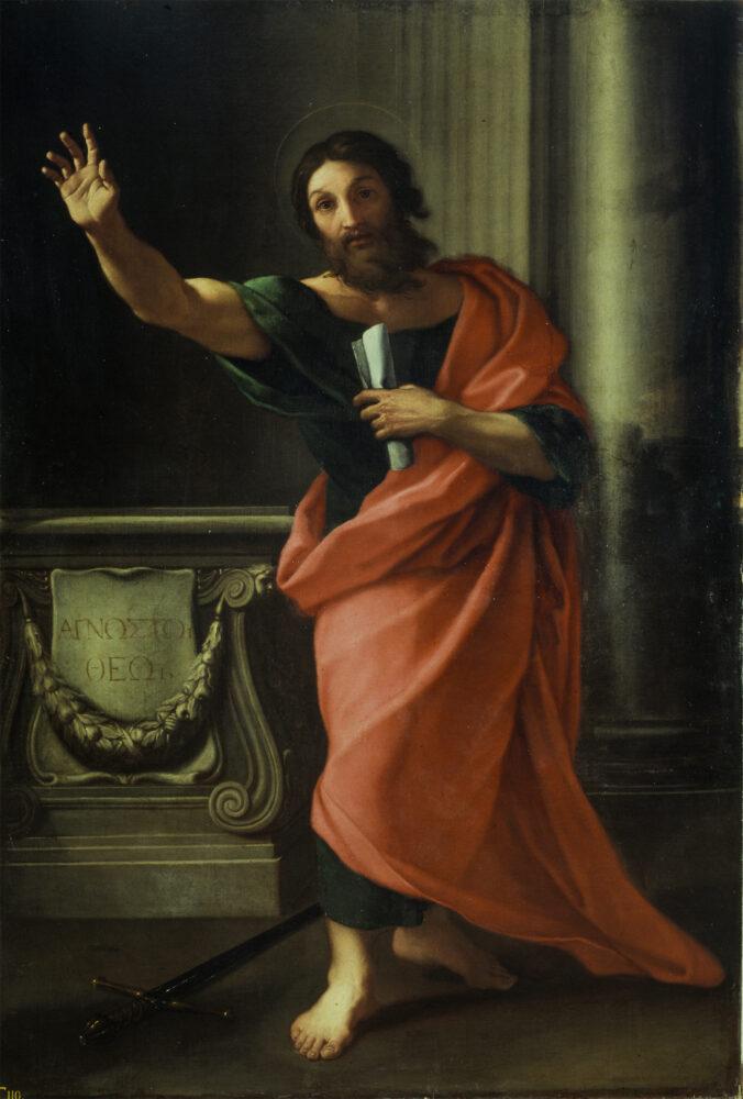 Carlo Maratti, San Paolo, 1666-1670, olio su tela. Roma, Gallerie Nazionali di Arte Antica, Palazzo Barberini. Foto MIBACT- Bibliotheca Hertziana