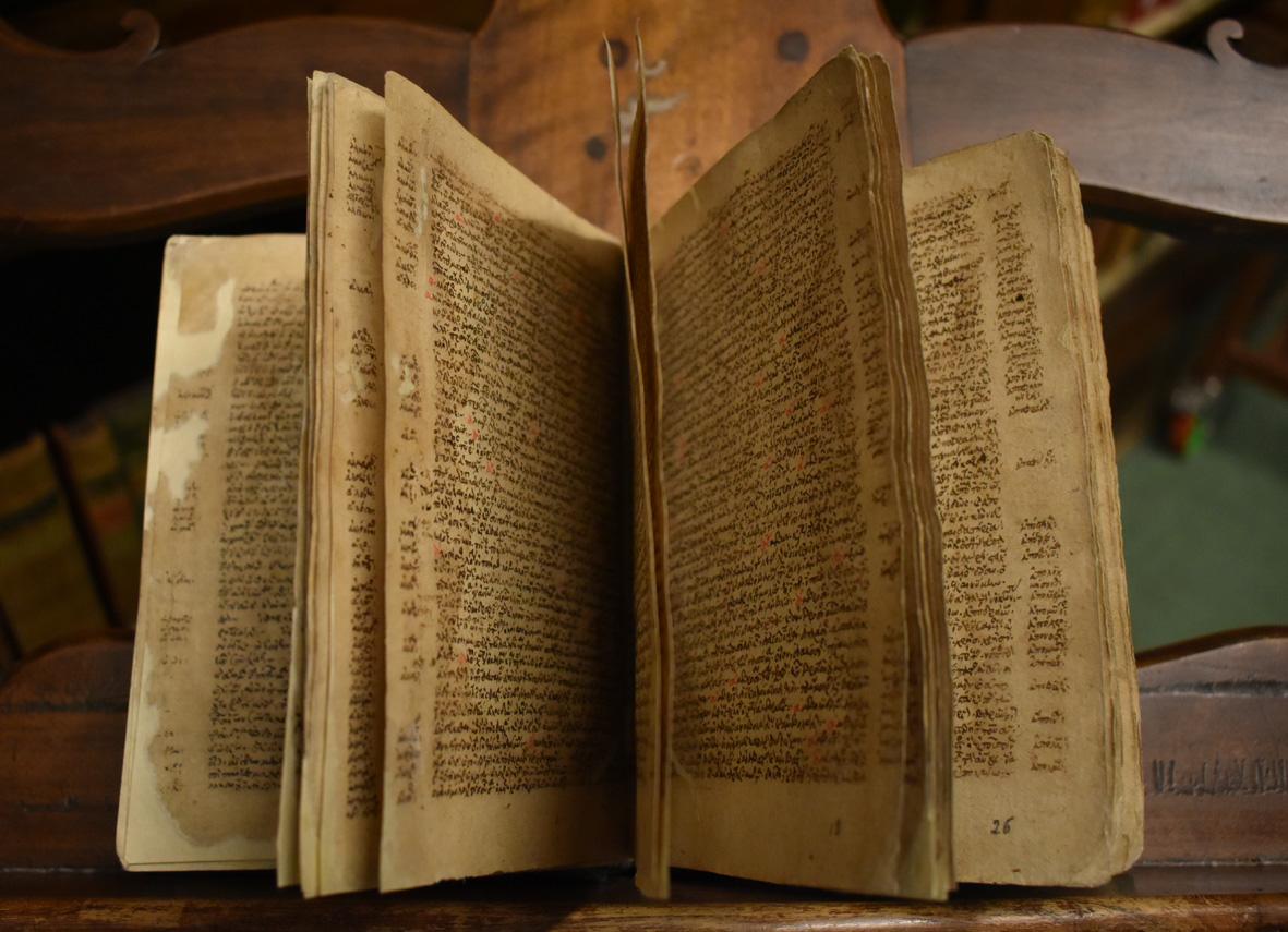 Come un'apparizione, ecco gli antichi manoscritti greci della Biblioteca Palatina di Parma
