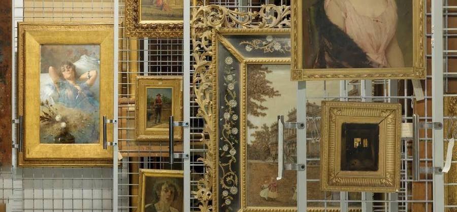Depisiti del Museo del Real Bosco di Capodimonte, Napoli | Photo Credit: Mauro Fioresi