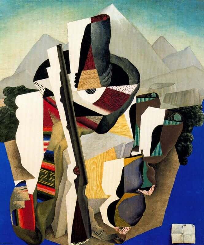 Diego Rivera, Zapatista Landscape (1915)