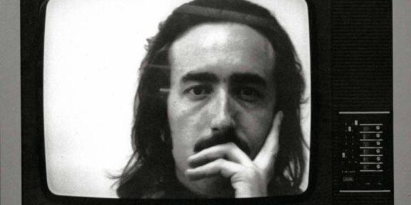 Gino De Dominicis, Schermo 1970 fotografia in bianco e nero cm 39 x 52