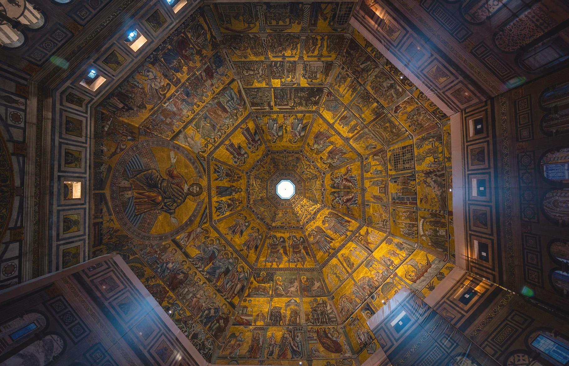 """""""Cose mirabili"""". Conclusi i primi restauri sui mosaici del Battistero di Firenze"""