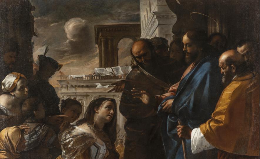 Cristo e la Cananea: in mostra il gioiello restaurato di Mattia Preti, a Roma