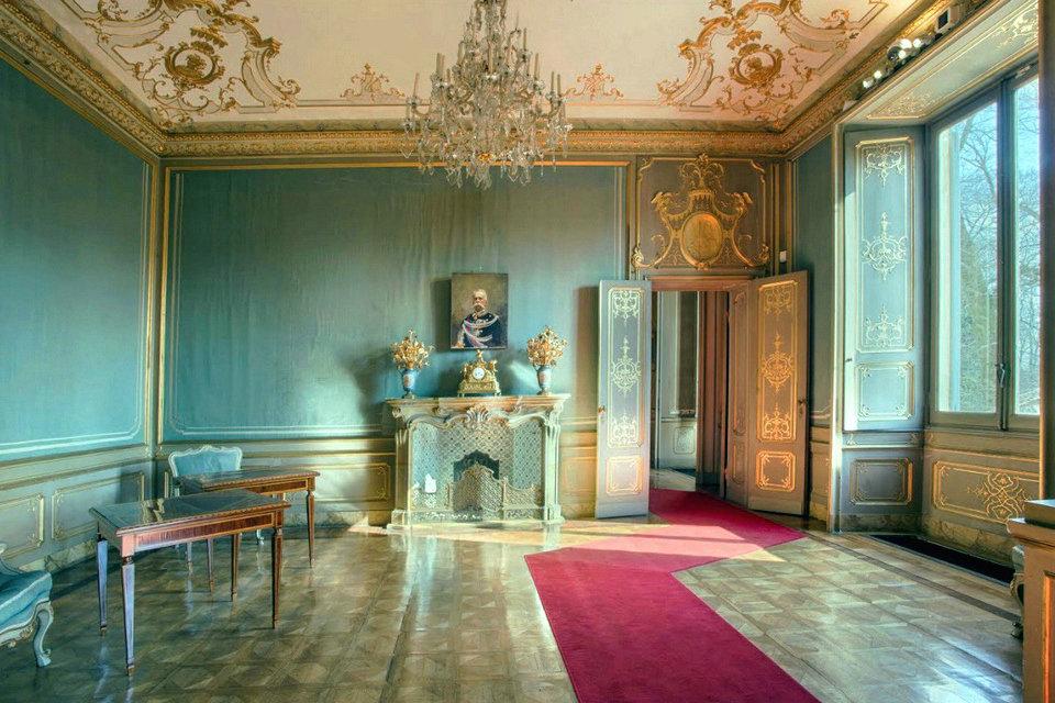 Interno della Villa Reale di Monza