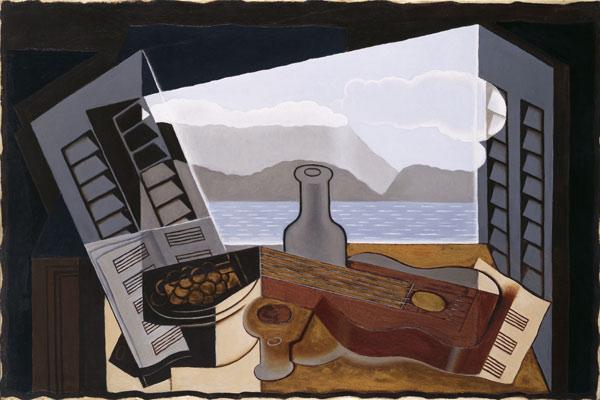 Juan Gris, The Open Window