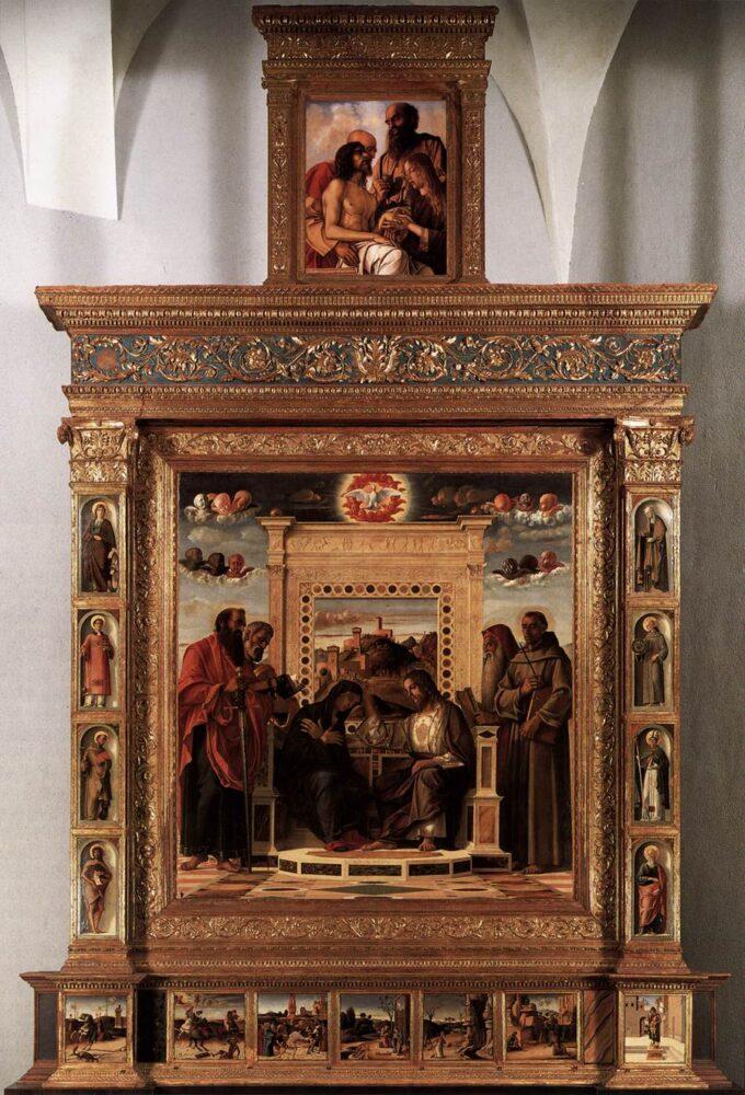 La Pala di Pesaro di Giovanni Bellini