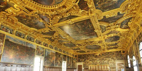 La Sala del Maggior Consiglio a Palazzo Ducale, Venezia