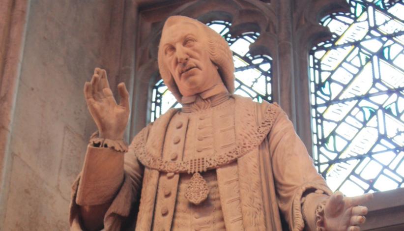 La statua dell'ex sindaco di Londra William Beckford