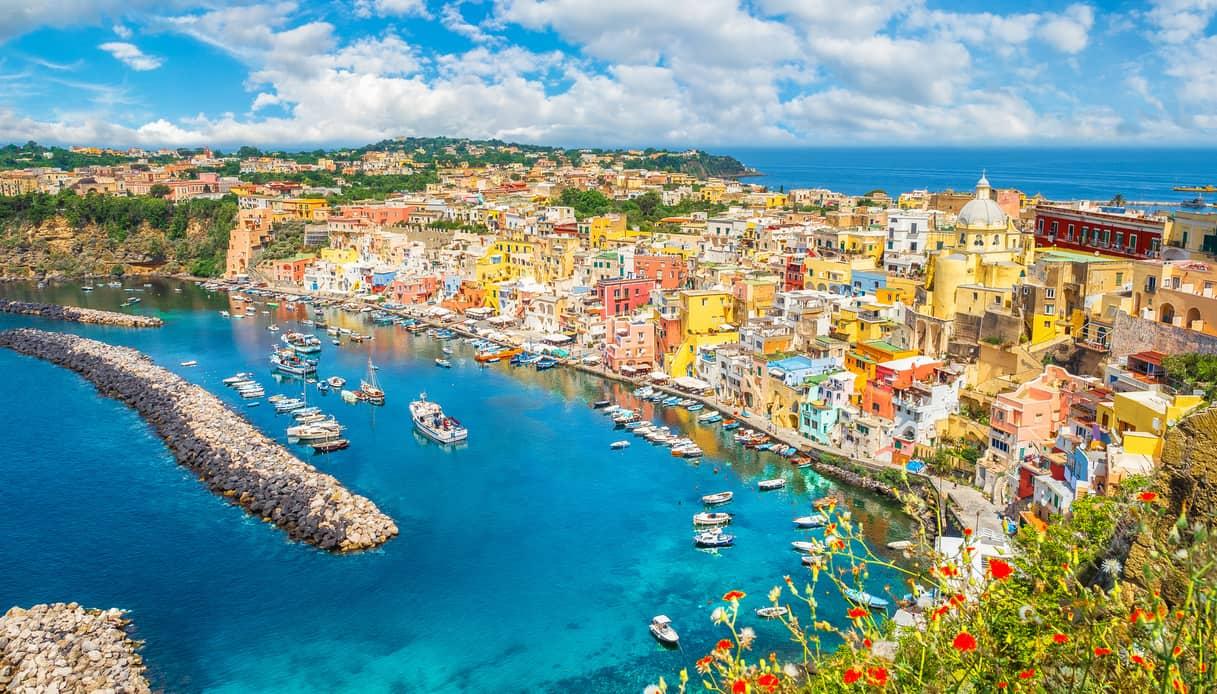 Sarà Procida la Capitale italiana della cultura per l'anno 2022