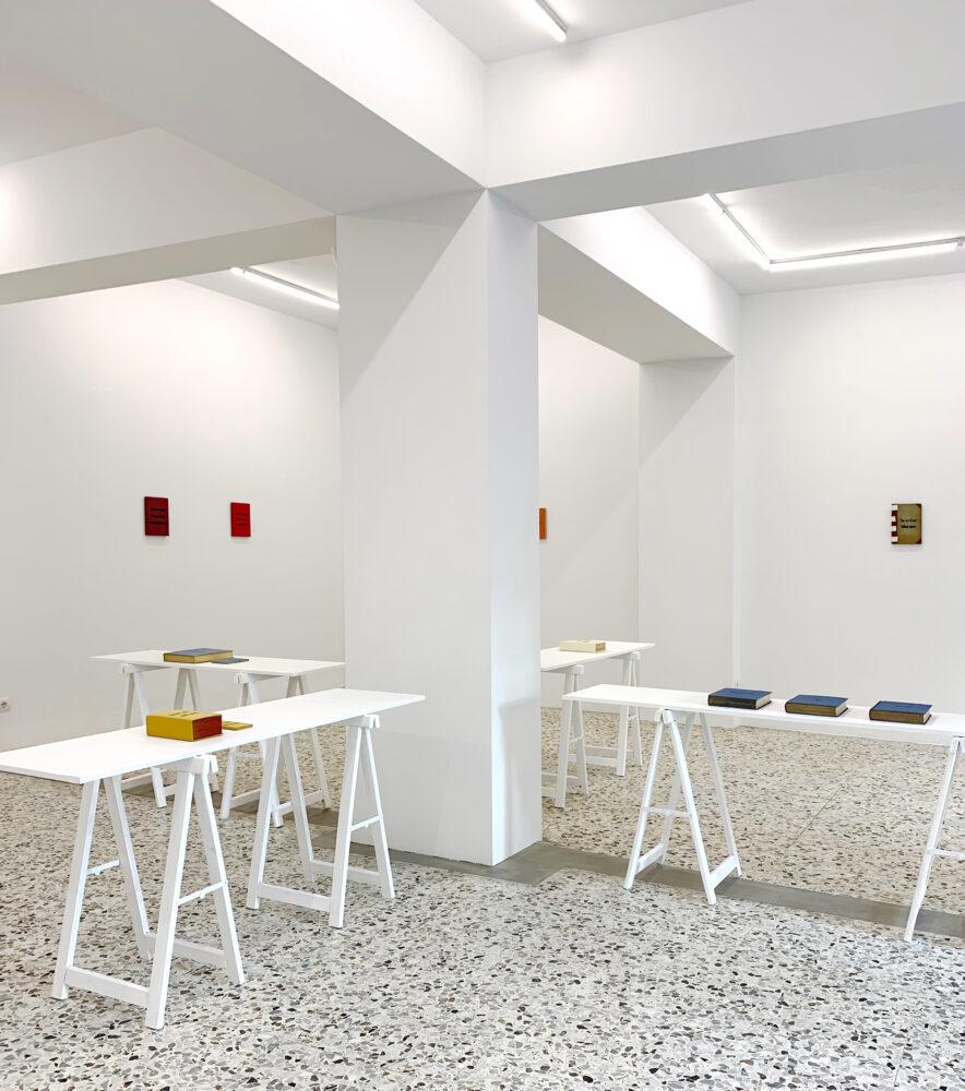 Reading between the lines, exhibition view @ G/ART/EN