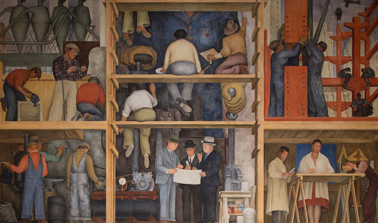 Il San Francisco Art Institute venderà il murale di Diego Rivera?