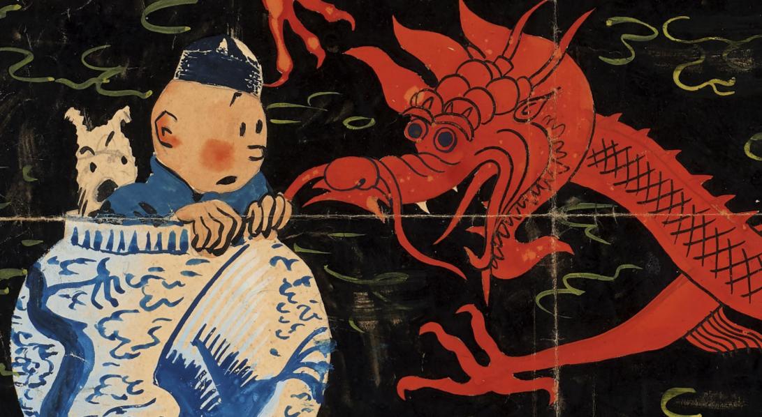 Un inedito Hergé all'asta. Da Artcurial 'Le Lotus bleu' quota fino a 2,8 milioni