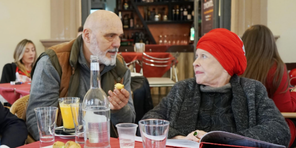 Bruno Ceccobelli e Barbara Rose, Caserta 2018