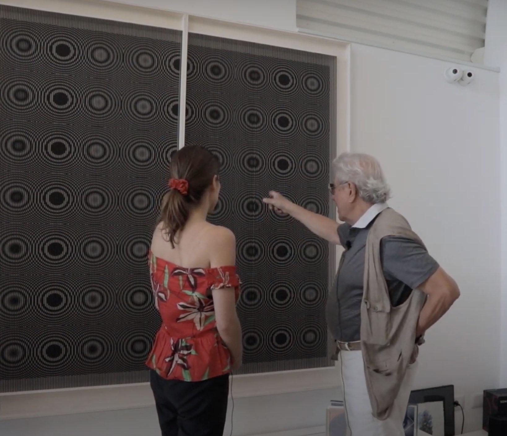 """Alberto Biasi e l'idea dietro le sue """"Gocce"""" in un'intervista di Dep Art Gallery"""