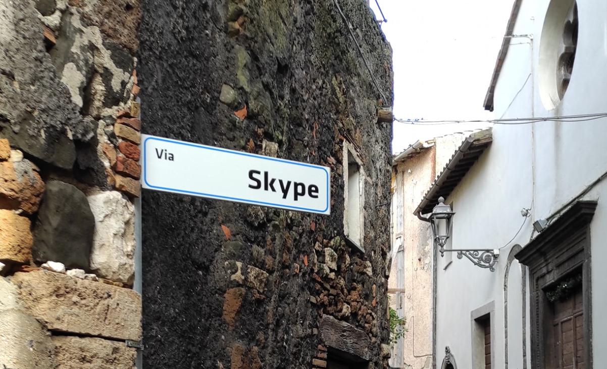 Piazza Google, Via Skype, Viale Web. Le Nuove direzioni di Simone Marini a Sipicciano