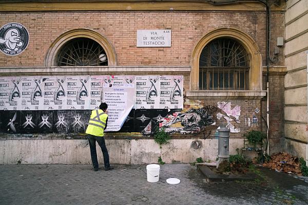 La chat come opera d'arte. Iginio De Luca a Roma