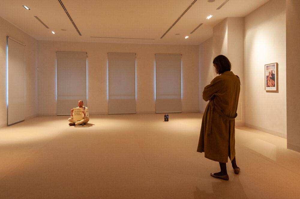 Vicino a Fano, installation view, 2020, foto di Giovanni Anselmi Tamburini, courtesy Fanta MLN e l'artista