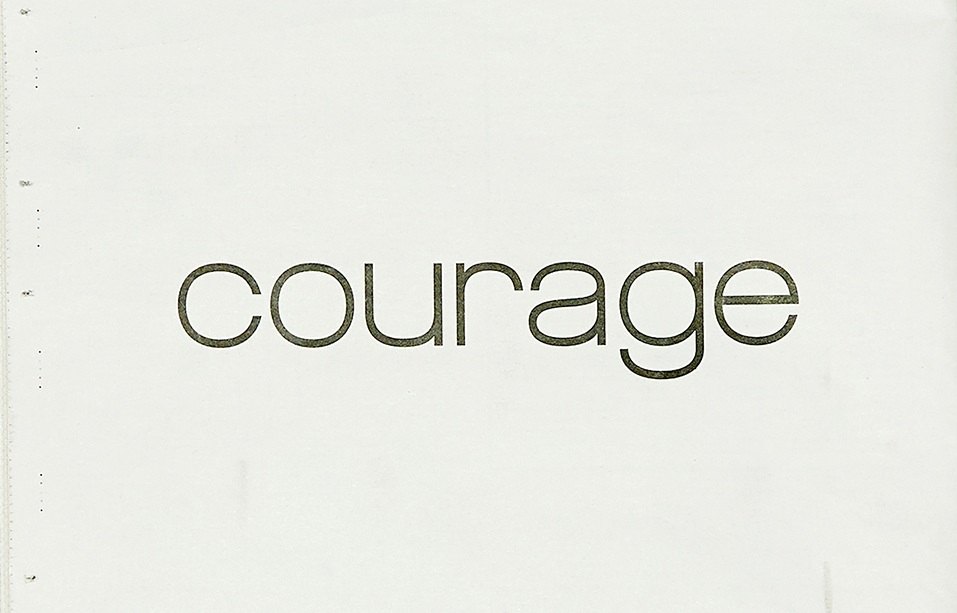 Courrèges o Courage. Il messaggio di speranza del fashion brand