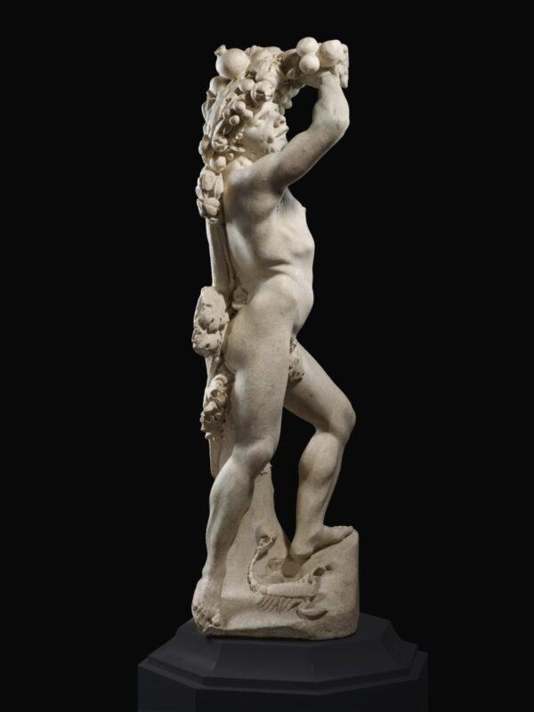 Pietro Bernini and Gian Lorenzo Bernini, 'Autunno', Roma, 1615-1618 circa. Altezza statua: 125,5 cm. Prezzo stimato: dagli 8 ai 12 milioni di dollari.
