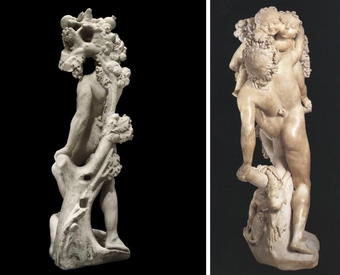 Interessanti similitudini tra 'Un fauno preso in giro da bambini' e 'Autunno' di Bernini