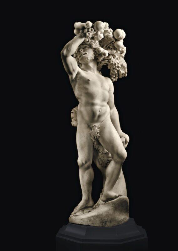 Pietro Bernini and Gian Lorenzo Bernini (Sesto Fiorentino 1562 –1629 Rome | Naples 1598–1680 Rome) Autumn, Rome, circa 1615-1618 marble height 49 ½ in.; 125.5 cm. Estimate: 8,000,000 – 12,000,000 USD