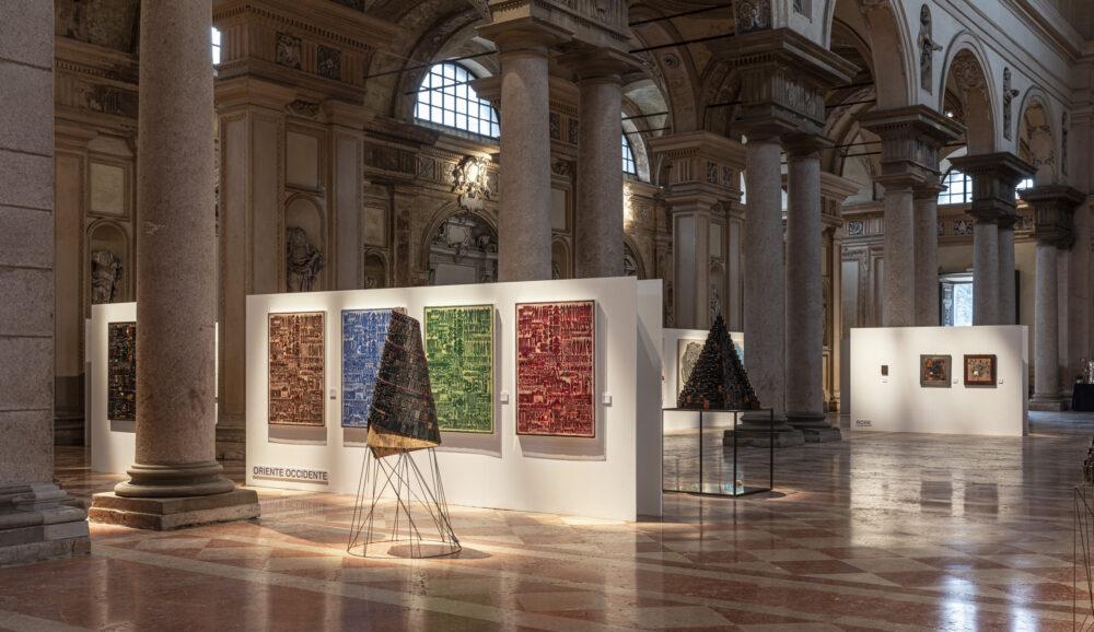 Giorgio Milani. La scrittura come enigma, Piacenza, Volumnia, 25 ottobre 2020 – 6 gennaio 2021 © Fausto Mazza