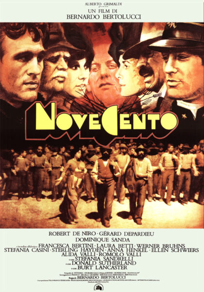 Locandina di Novecento (Bernardo Bertolucci)