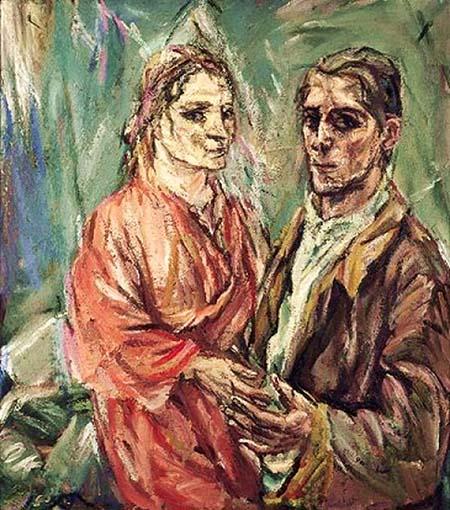 Oskar Kokoschka e Alma Mahler