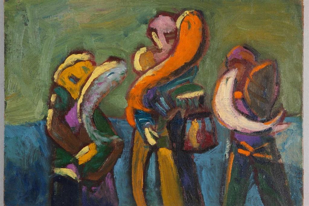 Pier Paolo Pasolini, pittore. Tornano alla luce 19 opere del grande intellettuale