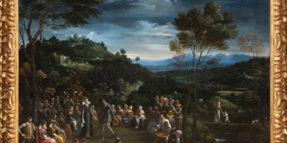 Guido Reni, Danza campestre, ph C. Giusti