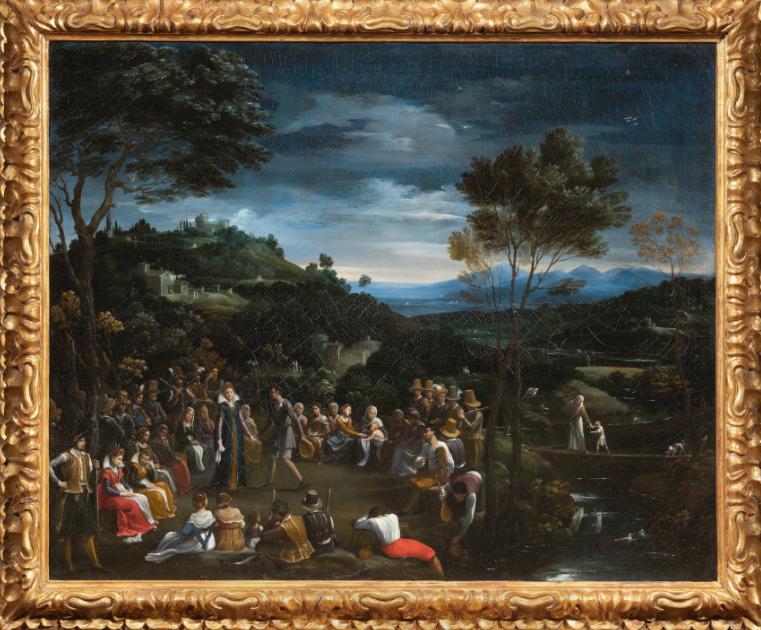 """La Danza campestre di Guido Reni: una grandissima """"scoperta"""" torna alla Galleria Borghese"""