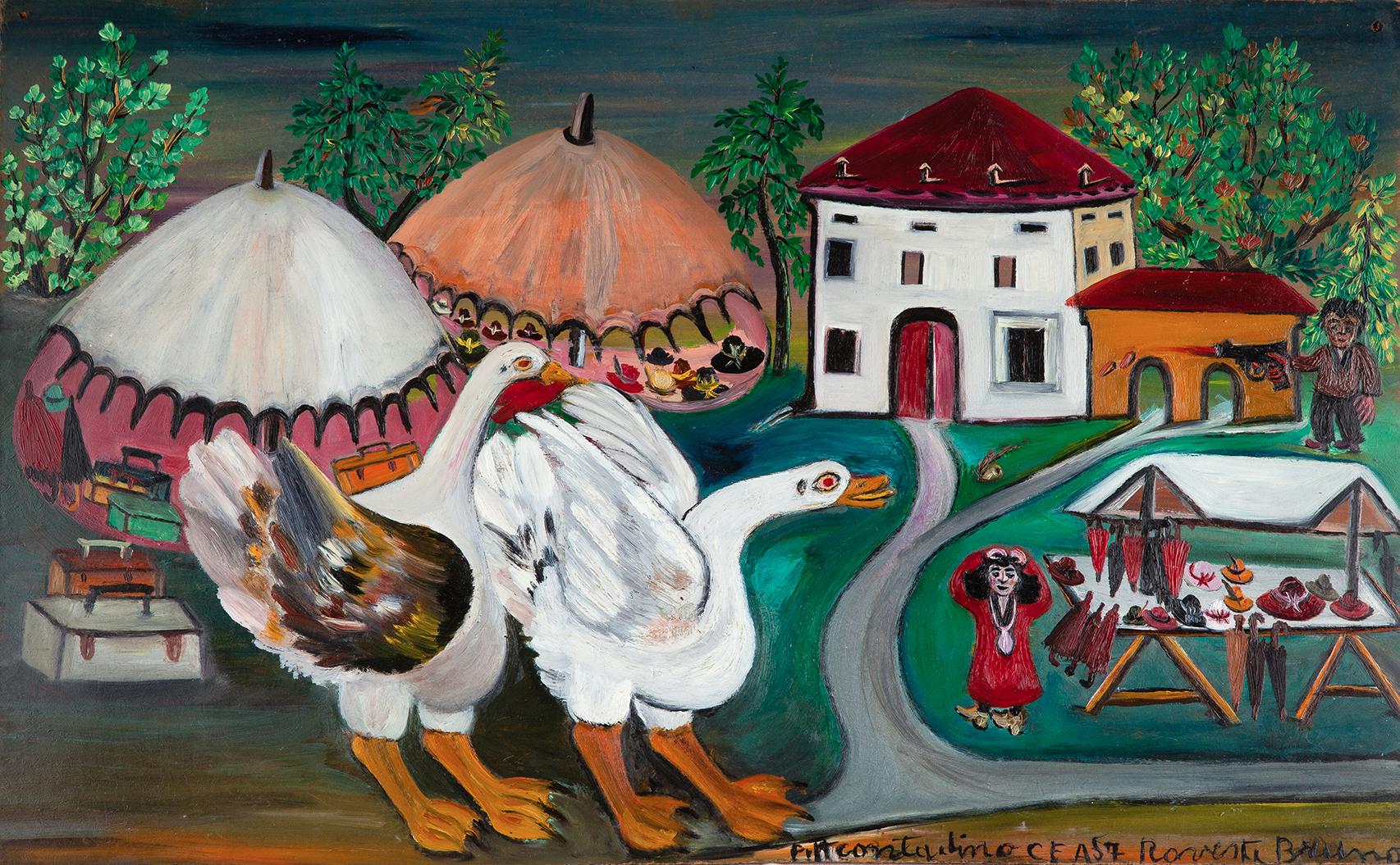 Il trionfo dell'arte naïf: i capolavori del Museo Anatole Jakovsky di Nizza