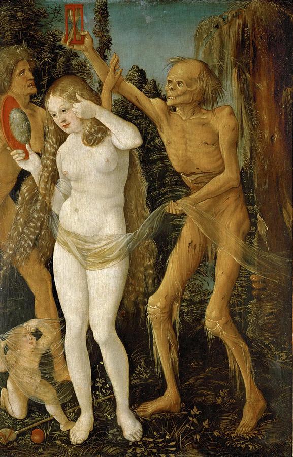 Hans Baldung, Le tre età della donna e la morte
