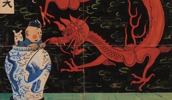 Record! Tintin a 3,2 milioni in asta da Artcurial con 'Le Lotus bleu' di Hergé